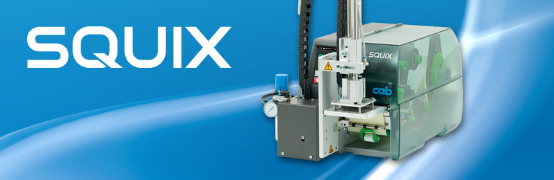 Applicators for label printer SQUIX