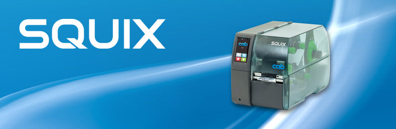 Label printers SQUIX 4 M