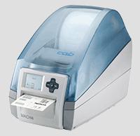 La impresora de etiquetas de alto rendimiento MACH4 para oficinas o producción; la cuchilla integrada es opcional.