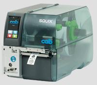 布質標籤專用條碼印表機 SQUIX 4 MT