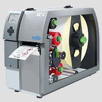 Imprimantes d'étiquettes cab XC4-XC6 - pour l'impression de deux couleurs