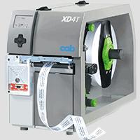 Imprimante d'étiquettes cab XD4T pour l'impression recto verso