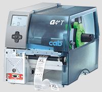 cab 紡織布標專用條碼印表機 A4+T