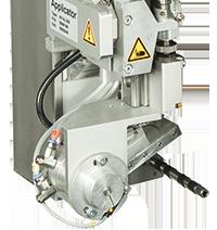 cab aplicador de presión pivotante 4514 por sistema de impresión y etiquetado Hermes+