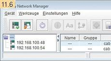 Administration Network Manager