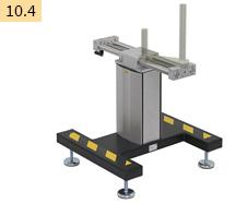 Horizontal floor stand 1231