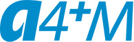 A4+M Logo