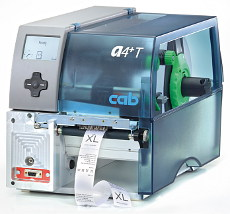 Label printer A4+T for textile materials