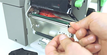 A+ series - changing the print roller