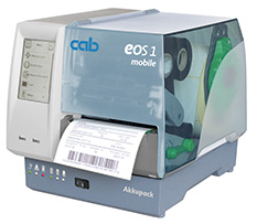 cab label printer EOS1 mobile