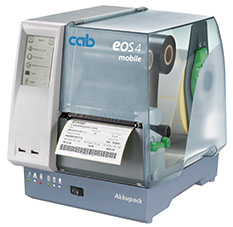 cab label printer EOS4 mobile