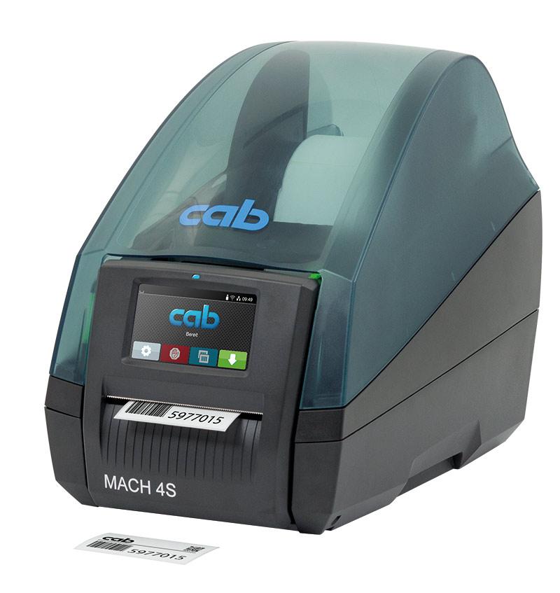Label printer mach 4s | cab.