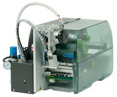 cab label printer SQUIX with applicator S3200