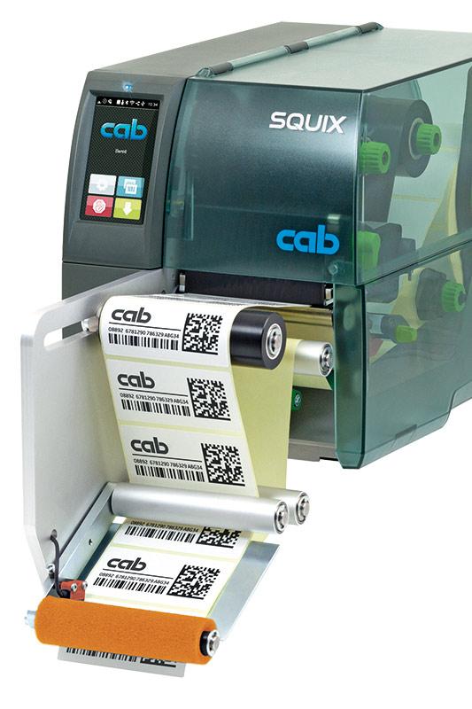 Applicators for label printer SQUIX | cab