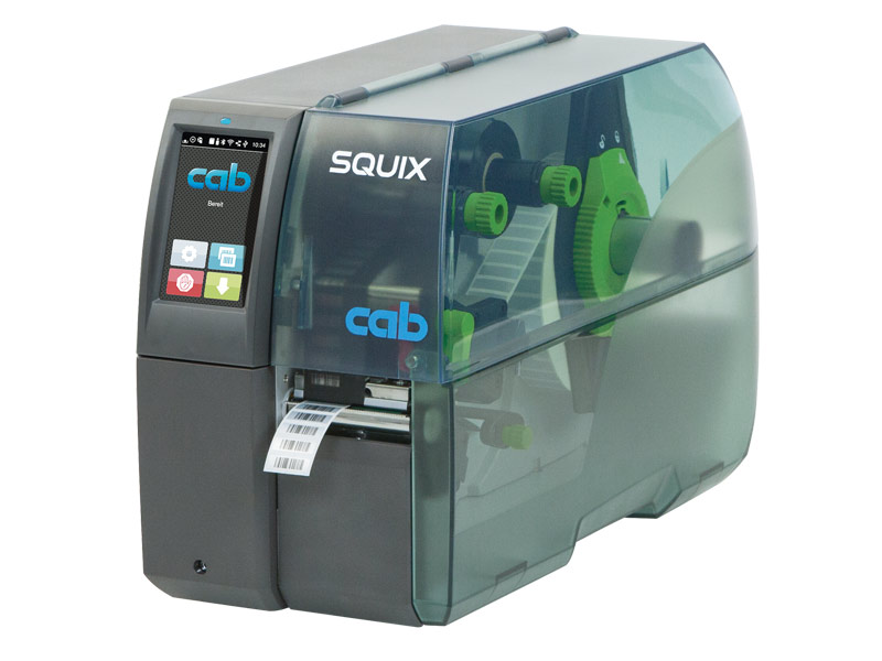 Label printers SQUIX | cab