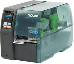 cab Etikettendrucker SQUIX 4