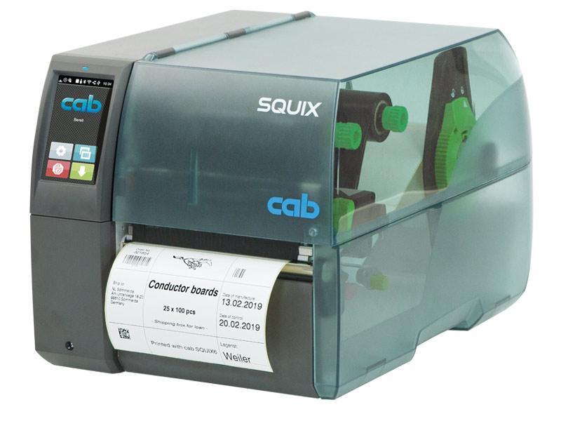 Label printers SQUIX | cab