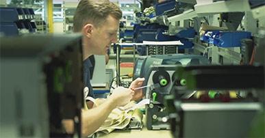 Etikettendrucker SQUIX -für industrielle Anwendungen