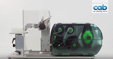Etikettendrucker SQUIX mit Applikator S3200