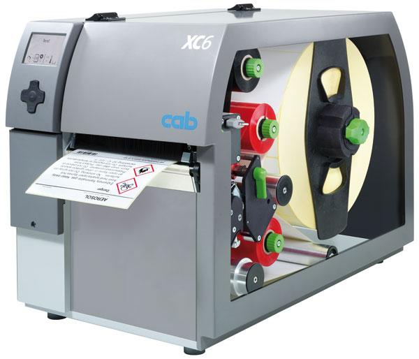 XC series | GHS label printer for two-color printing | cab