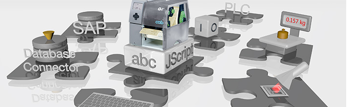 Integration of cab label printers