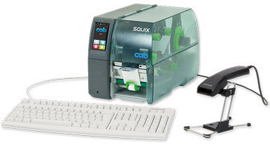 cab label printers programming and administration