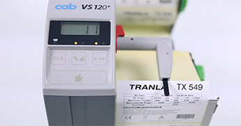 Label dispenser HS and VS