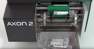 Tube labeling system AXON 2