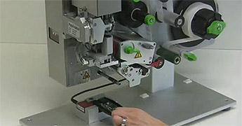 Hermes+ Etikettieren von elektronischen Bauteilen