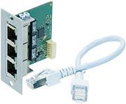 2 port Ethernet switch 10/100 Mbit/s